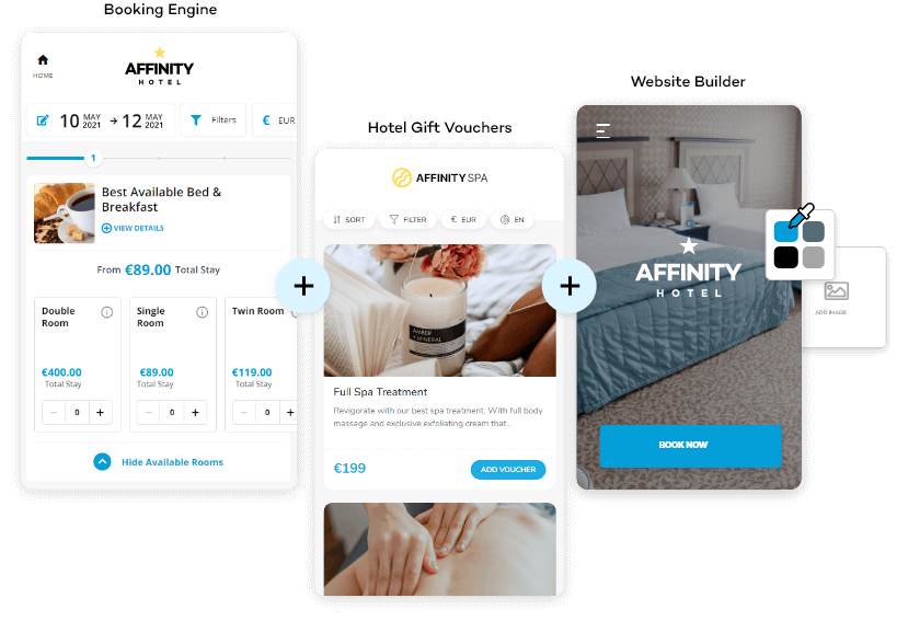 Net Affinity - Booking Engine